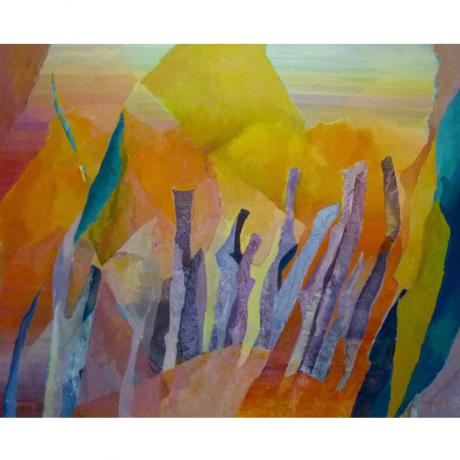 Olivia Scholnick Abstract Landscape