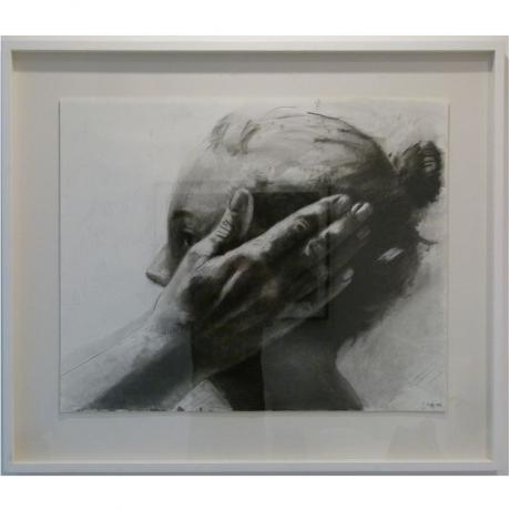 Tanya Poole Untitled (hand on side of face)