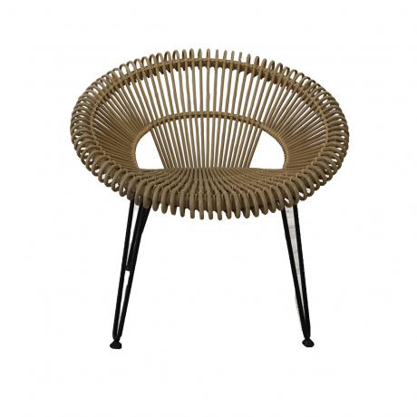Franco Albini, Rattan Bucket Chair