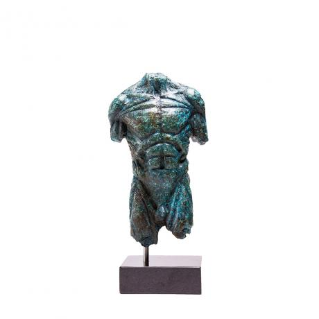 Stanislaw Trzebinski, 1/4 Lifesize Male Torso, 2016, Bronze on granite base, Edition, 1/5, 40cm x 22cm x 12cm
