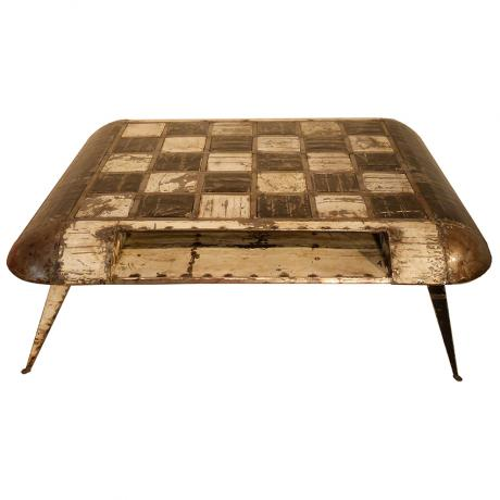 Hamed Ouatarra  Chess board coffee table