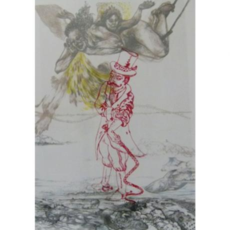 """Dianne Victor  """"Sky god meets the ringmaster"""", 1998"""