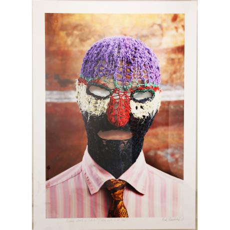 Mark Rautenbach MOMMY WHAT'S A FETISH (WHY CAN'T I BE YOU?) Archival print (framed) 102cm x 75cm x 6cm